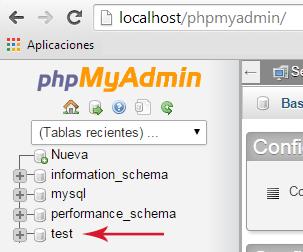 Migrar un WordPress - phpMyAdmin