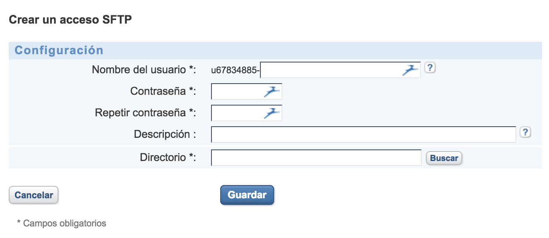 Migrar un WordPress - Configurar FTP paso 2
