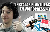Instalar plantillas en WordPress