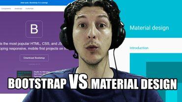 Bootstrap VS Material design