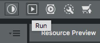 Icono de ejecución